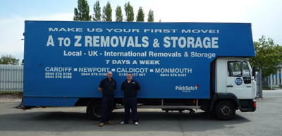 Cardiff Removals Lorry